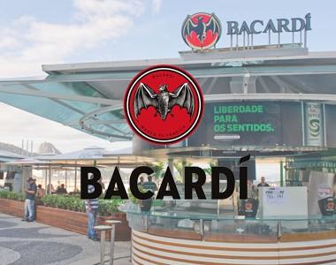 MATERIAIS DE MERCHANDISING BACARDI